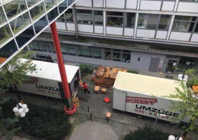 Objektumzug / Büroumzug Berlin: BUWOG AG