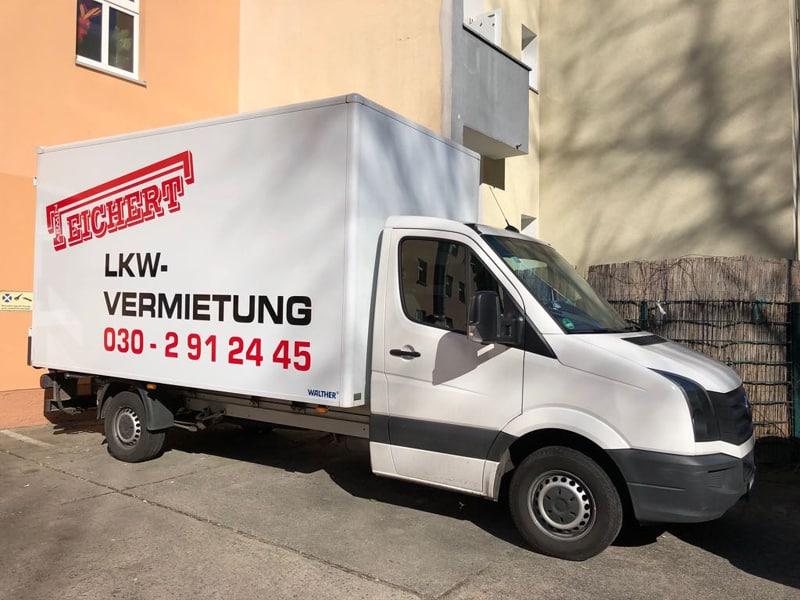 Lkw Vermietung Berlin - TEICHERT Mietfahrzeug.