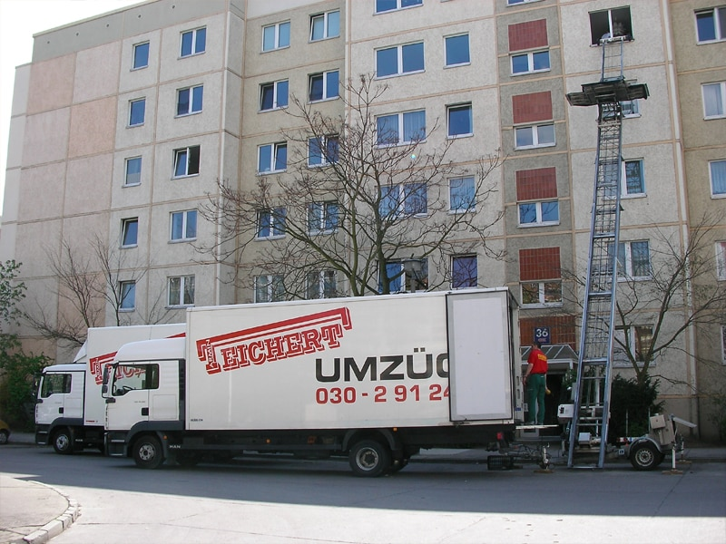 Umzüge Berlin - Umzug nach Brandenburg - Beladeort Berlin.